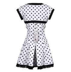 The Violet Vixen - Doting Dots Corset Dress, 209.12 NZD (http://thevioletvixen.com/clothing/doting-dots-corset-dress/)