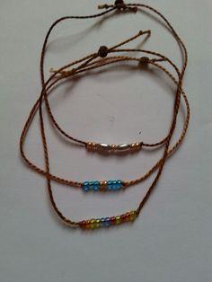 Bracelets couleur vintage ocre