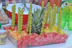 Underwater fruit tray!