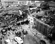 Remembering the May 11, 1953 Tornado that ripped through downtown Waco, TX
