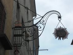 old shop sign happy sun Happy Sun, Shop Signs, Chandelier, Ceiling Lights, Lighting, Photography, Home Decor, Homemade Home Decor, Candelabra