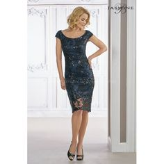 Jasmine Black Label Mother of the Bride Dress M190013