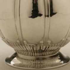 Gallery 925 -  Rare Georg Jensen chocolate pot with Swedish import marks dating to 1924.   A similar example can be seen in the book GEORG JENSEN HOLLOWARE, The Silver Fund Collection by David Taylor and Jason Laskey, pg. 157.