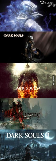So, SoulsBorne fans; which is your favourite game from From Software? Bloodborne would be mine.