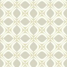"Pattern Play 33' x 20.5"" Foxy Wallpaper"