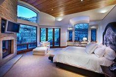 Inspiring Dream Master Bedroom Design Ideas - Page 22 of 57 Dream Master Bedroom, Master Bedroom Design, Home Bedroom, Girls Bedroom, Bedroom Decor, Bedroom Ideas, Master Bedrooms, Fancy Bedroom, Bedroom Furniture