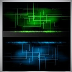 Fantastic Light and Shade Background Vector 02