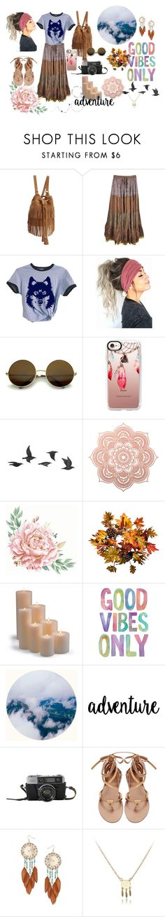 """""""Gypsy soul"""" by figueroamaarg on Polyvore featuring PBteen, Casetify, Jayson Home, Improvements, Frontgate and Miss Selfridge"""