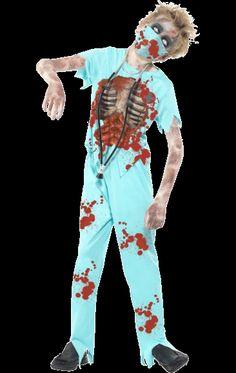 Child Zombie Surgeon Costume   Jokers Masquerade