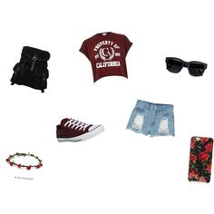 School Outfit by twinsiees on Polyvore featuring River Island, Monki, Converse, even&odd, Isaac Mizrahi and Acne Studios