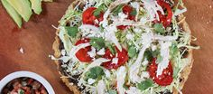 This crispy Mexican pizza, or tlayuda, makes a deliciously customizable weeknight meal. Our Gluten Free Ivory Teff Wraps crisp up beautifully to make the pizza crust. Prep time: 15 minutes | Cook time: 5 minutes Ingredients 1 cup Canola oil 2 La Tortilla Factory Gluten Free, Wheat Free Wraps, Ivory Teff 1 cup fat-free refried …
