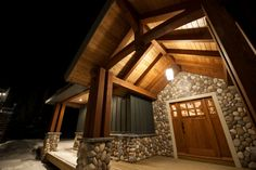 Gorgeous craftsman exterior Custom Home Builders, Custom Homes, Craftsman Exterior, Timber House, Home Kitchens, Construction, Cabin, House Styles, Gallery