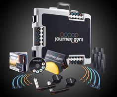 Getting a Journey Gym isn't quite as good as getting a briefcase full of unmarked hundred dollar bills, but it's better than getting a briefcase full of performance data you have to enter by hand into an Excel spreadsheet. Or, say, a briefcase full of ph
