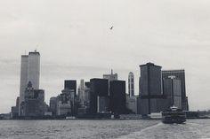 World Trade Center, New York, 1973 by rustyproof, via Flickr