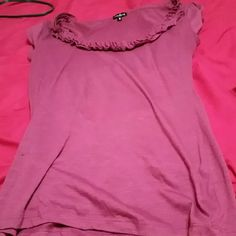 Purple juniors top Juniors pretty top Maurices Tops Blouses
