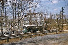 Capital Transit PCC inbound from Glen Echo (1955).