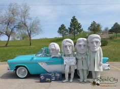 #RCMascots headed to #Denver! Only 5 and a half hours from Rapid City, SD! #visitrapidcity