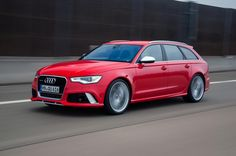 The beautiful Audi RS6