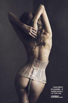John Paul Gaultier for La Perla corset. Femina China. Paul Morel.