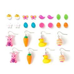Get a #moreismore look for #Easter with this Favorites Earrings Set of 12