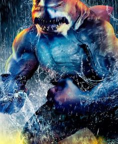 """King Shark from """"The Flash"""""""