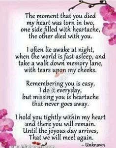 I miss you mom. How am I supposed to go on without you? I think about you every minute and I can't stand not seeing you. Now Quotes, Life Quotes Love, Hurt Quotes, Year Quotes, Miss You Dad, Mom And Dad, The Words, Rip Daddy, Rip Mom