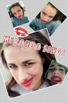 Haters back off miranda sings sweats redgrey every one needs them i love miranda sings m4hsunfo