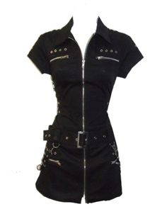 Hearts & Roses | Black Bondage Dress - Tragic Beautiful buy online from Australia