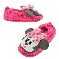 e8da997394b8 Minnie Mouse Slippers for Kids Minnie Mouse Slippers