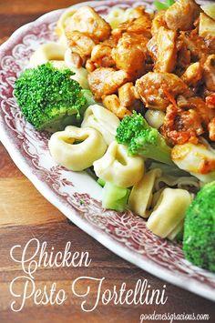 Chicken  Pesto Tortellini