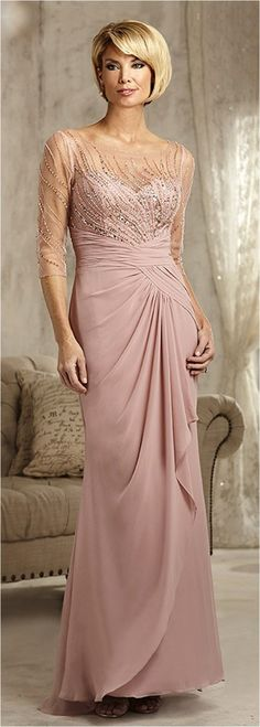 Elegant Mother Of The Bride Dresses Trends Inspiration & Ideas (38)
