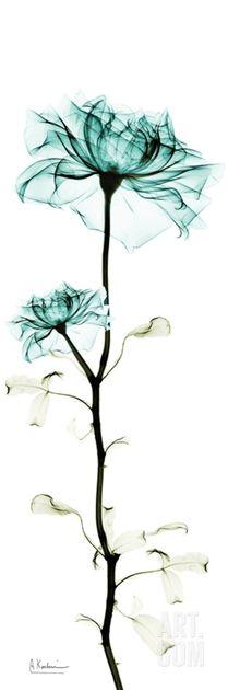 rose tower in blue by albert koetsier