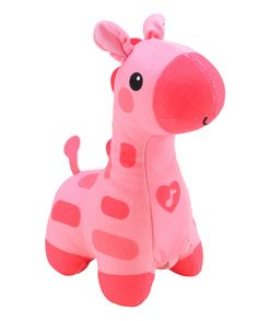 Beatrix - Fisher-Price Soothe and Glow Giraffe, Pink