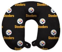 720fca185a7 NFL Pittsburgh Steelers Polyester U-Shaped Neck Travel Pillow  nfl  steelers   travelgear