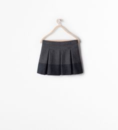Image 2 of PLEATED SKIRT WITH BORDER from Zara