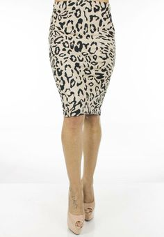 Fusta Dama Big Spot  Fusta dama midi, din material elastic ce contureaza frumos silueta.  Imprimeu indraznet cei da un plus de senzualitate.     Lungime: 58cm  Latime talie: 36cm  Compozitie: 95%Bumbac, 5%Elasten Skirts, Fashion, Moda, Fashion Styles, Skirt, Fashion Illustrations, Gowns, Skirt Outfits