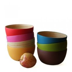 lacquerware bowls