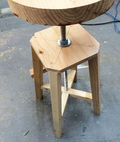 Nice Ana White | Build A Industrial Adjustable Height Bolt Bar Stool | Free And  Easy DIY