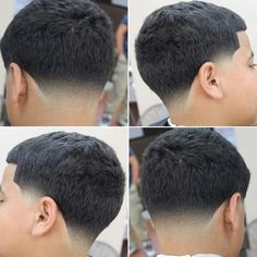 Mens Hairstyles With Beard, Ball Hairstyles, Black Men Hairstyles, Haircuts For Men, Temp Fade Haircut, Taper Fade Haircut, Tapered Haircut, Skin Fade Hairstyle, Gents Hair Style