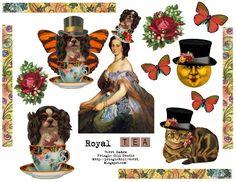 "Pringle Hill Studio: Collage Sheet ""Freebie"""