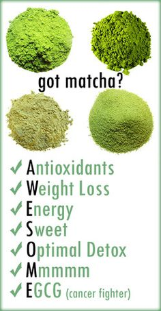 Find out for yourself why matcha is AWESOME! #healthyliving