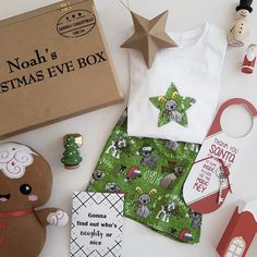 Night Before Christmas Box, Christmas Eve Box, Personalised Box, Personalized Christmas Gifts, Height Chart, Kid Names, Charts, Unique Gifts, Presents