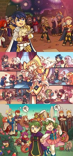 Askr looks full of happiness here x3
