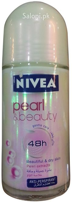 NIVEA PEARL & BEAUTY GENTLE CARE 48H ROLL-ON DEODORANT 50 ML Saloni™ Health