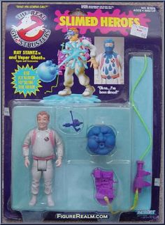 Kenner The Real Ghostbusters Slimed Heroes: Ray Stantz 1986