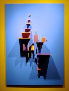 Structurist Relief: #34 AIX 1972-74 by Charles Joseph Biederman from Kramer Gallery, Inc.