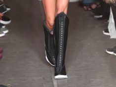 268f38a8e07bb3 PSNY Showcases the Air Jordan 15 Knee High Boots at Their Fashion Show