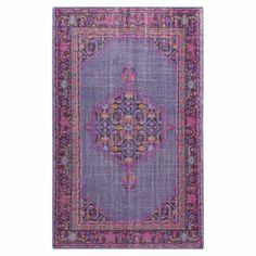 Loving this rug, such pretty colors. I think this would be really nice in a baby girl's nursery.