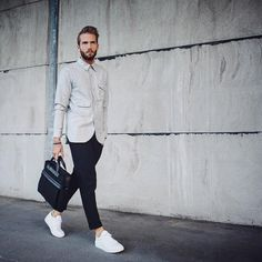 "@opumo on Instagram: ""Erik Forsgren - @fson19 - is the latest influencer to take the reins of our Edit series to showcase how the adored Scandinavian style can be so easily achieved. Take a closer look at the exclusive outfit collaboration on the magazine now. #streetstyle #opumo"""