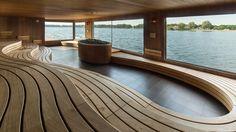 Saunas, Thermal Hotel, Wood Spa, Sauna Design, Spa Interior, Spa Rooms, Best Bath, Bathroom Spa, Hotel Spa